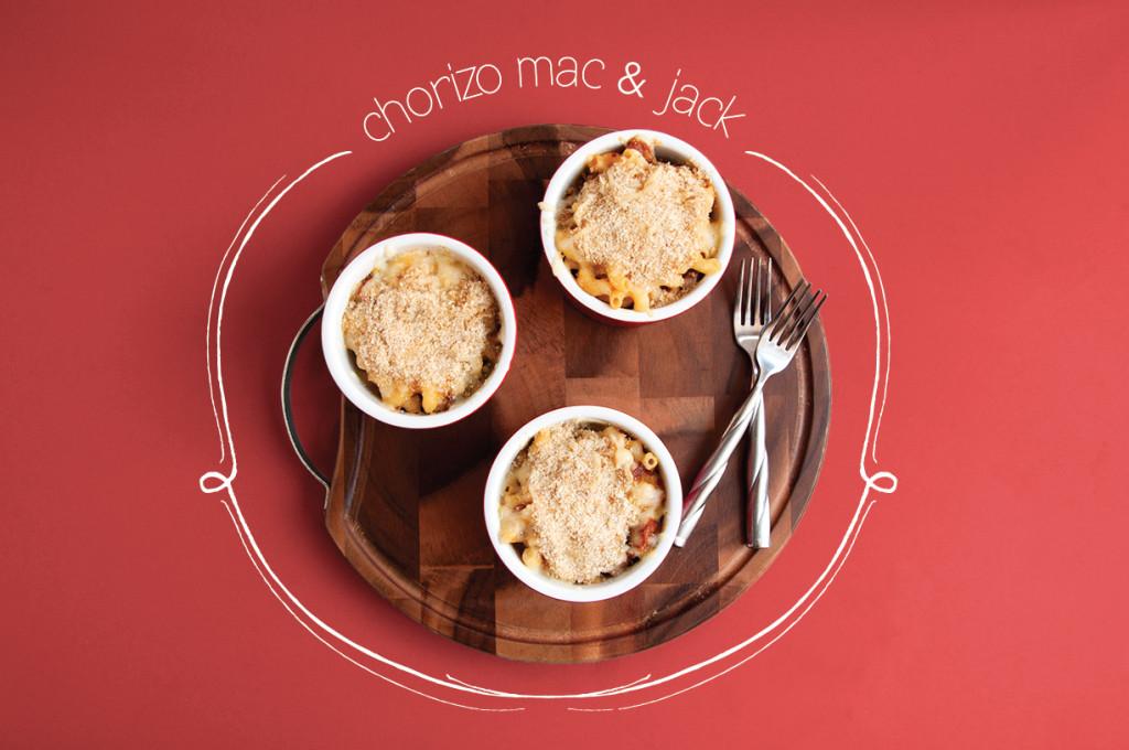 Chorizo-Mac-n-Jack-Overhead