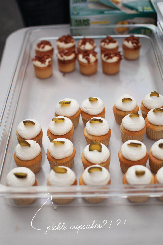 Pickle-Cupcake