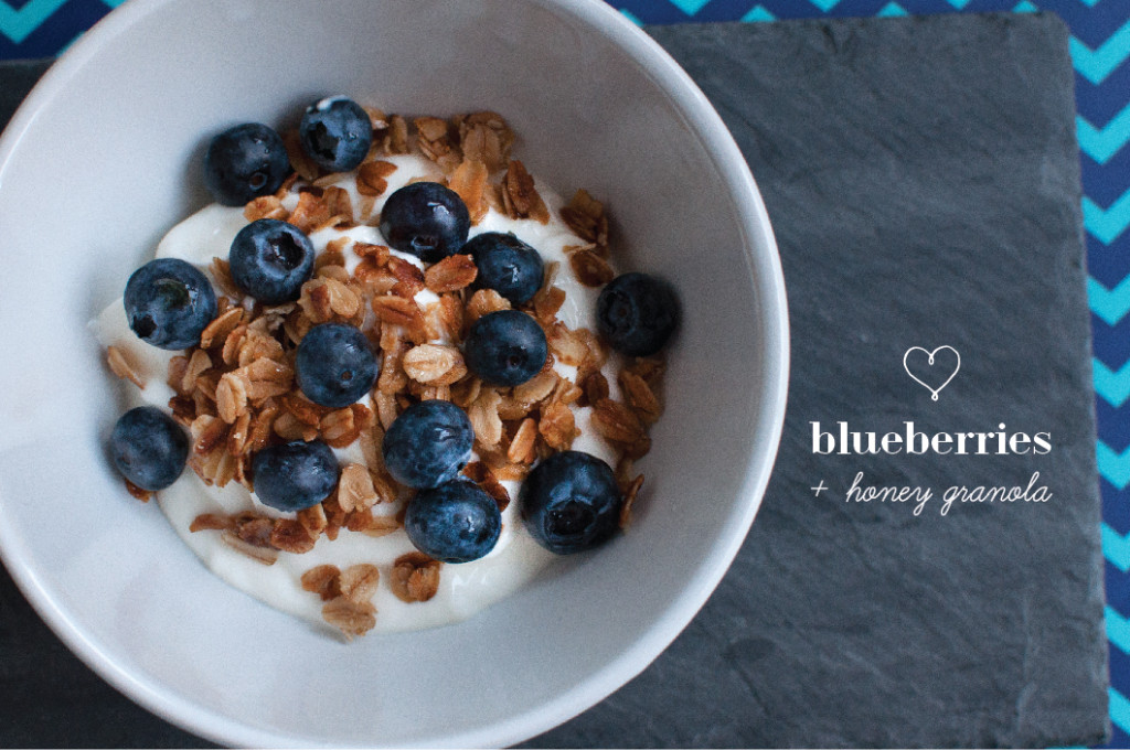 Blueberry-Honey-Granola