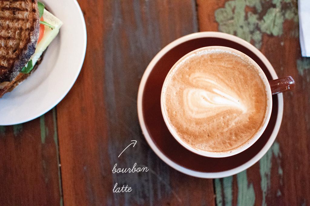 Bourbon-Latte