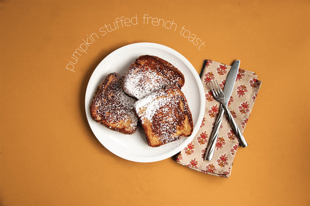 Pumpkin-Stuffed-French-Toast-Overhead