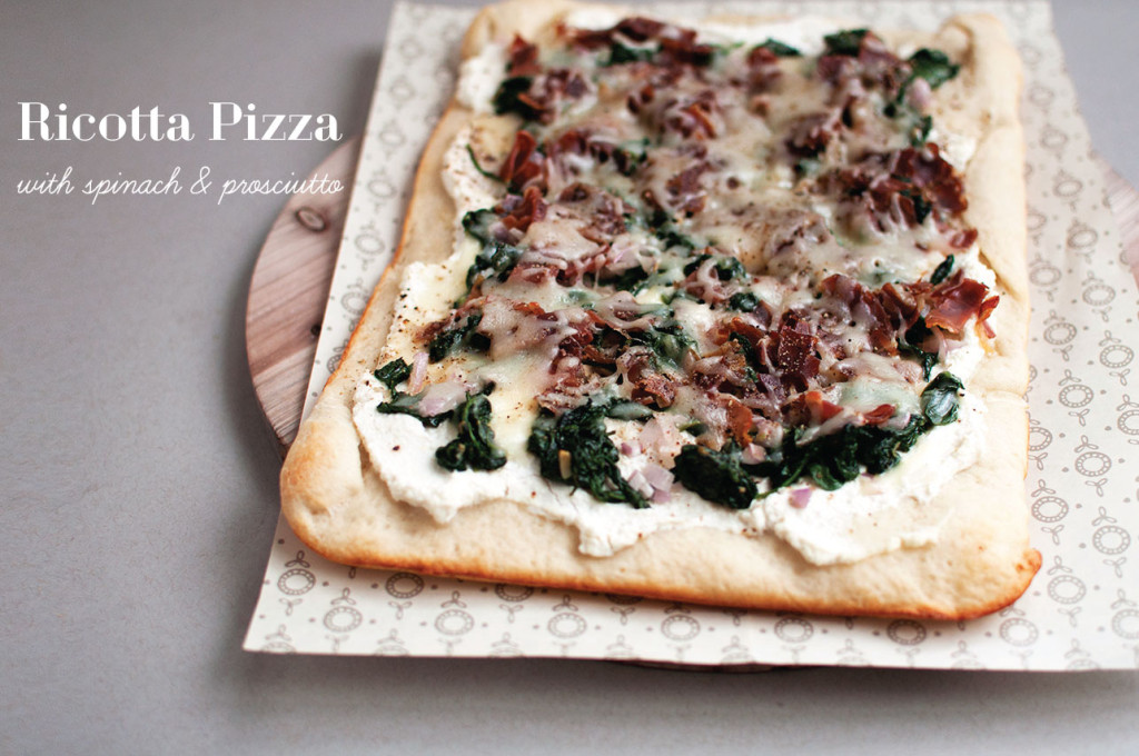 Spinach-and-Prosciutto-Pizza