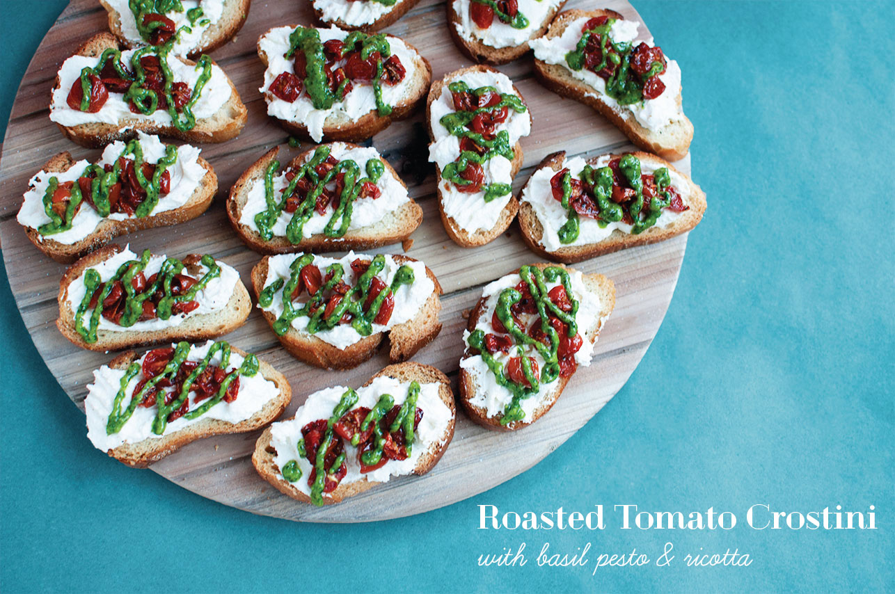 Roasted-Tomato-Crostini