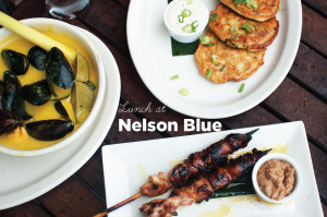 Lunch at Nelson Blue