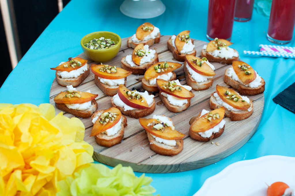 Justine-Birthday-Celebration-Peach-Crostini-1