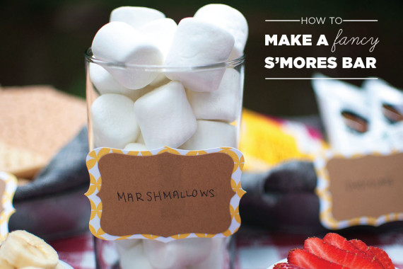 How to Make a Fancy S'mores Bar