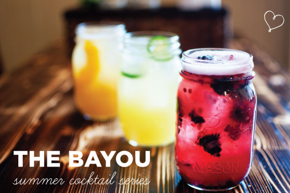 The Bayou Summer Cocktail Making Series