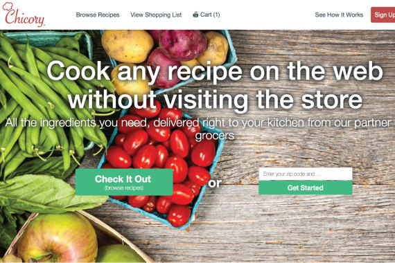 Exciting News! Chicory Grocery Service Helps Make Cooking at Home Easier