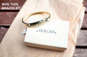 "Kalaki Riot ""Good Vibes"" Bracelet Giveaway!"