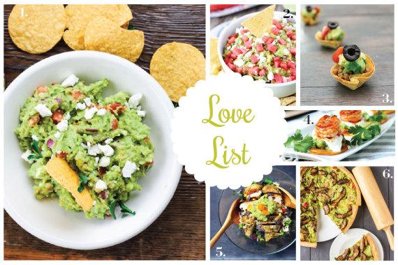 Love List 9/16/14: National Guacamole Day