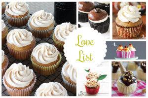 Love List 9/24/14: Cupcakes