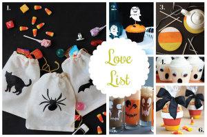 Love List 10/15/14: Halloween Crafts