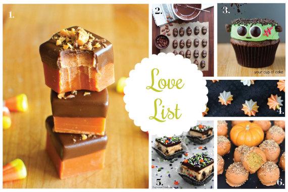 Love List 10/29/14: Halloween Treats