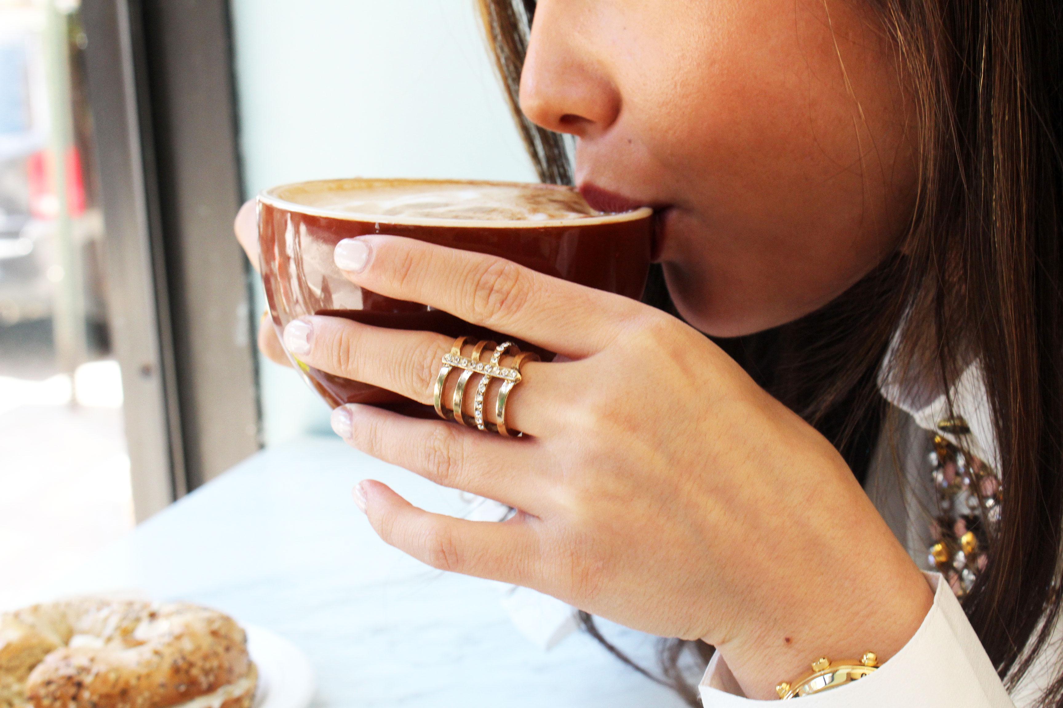 Pretty in Pistachio | Coffee Stop at Sweet Corner Bakeshop