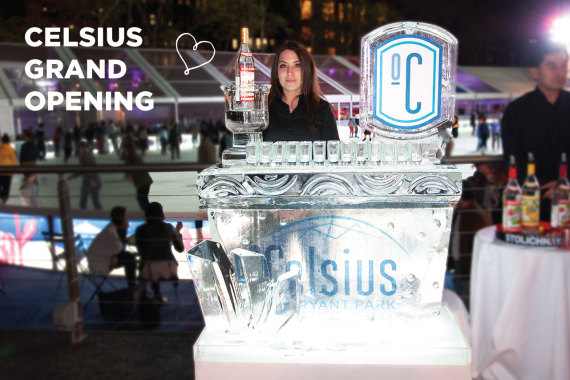 Grand Opening of Celsius at Bryant Park
