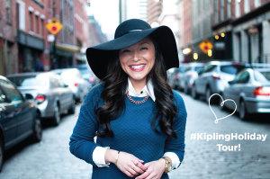 #KiplingHolidayTour + Event RSVP!