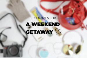 Weekend Trip Essentials Including Luna Bar's New Gluten Free Treats!