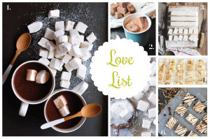 Love List 12/10/14: Homemade Marshmallows