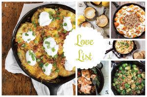 Love List 1/7/14: Cast Iron Skillet Recipes