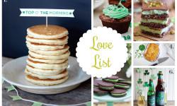 Love List 3/11/15: St. Patrick's Day