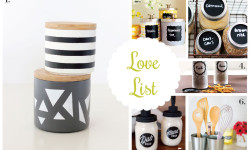 Love list 3/4/15: Kitchen Containers