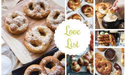 Love List 4/29/15: Pretzels