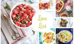 Love List 7/15/15: Summer Fruit Salads