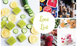 Love List 8/5/15: Fancy Ice Cubes