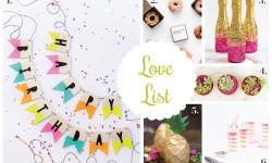 Love List 8/12/15: Birthday Ideas
