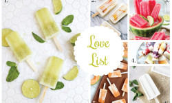 Love List 9/16/15: Popsicles