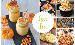 Love List 10/28/15: Candy Corn Recipes