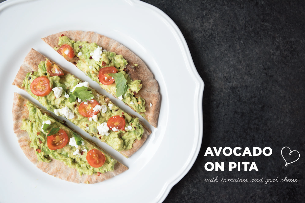 Avocado-on-Pita