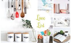 Love List 1/13/16: Kitchen Crafts