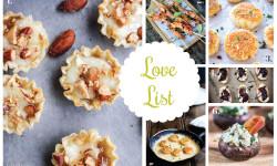 Love List 12/30/15: NYE Appetizers