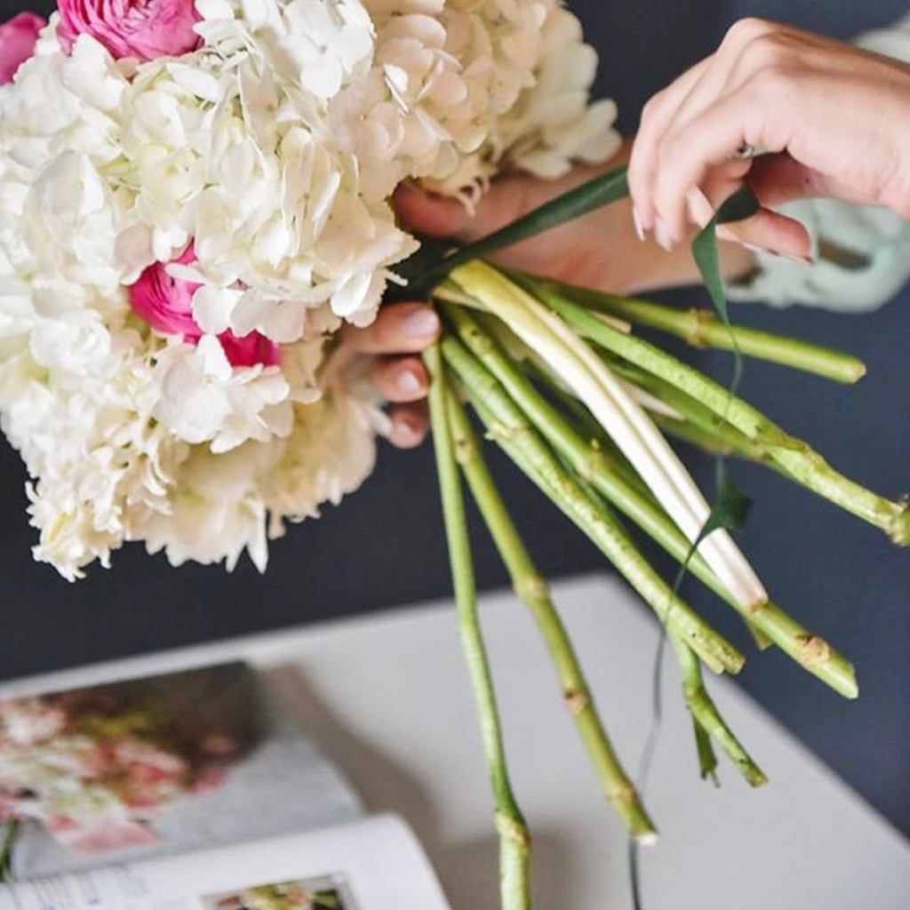 Pretty in pistachio meet the flower chef interview with flour la im no expert when it comes to flowers i can barely tell the different types of flowers apart mightylinksfo